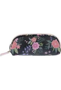 Nécessaire Stz Estojo Floral Color Colorido