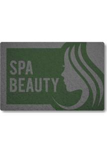Tapete Capacho Spa Beauty - Verde Musgo