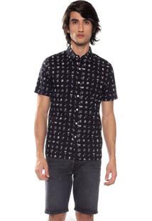 Camisa Levis Short Sleeve Pacific No Pocket - M