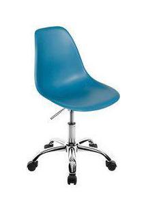 Cadeira Eames Office - Turquesa