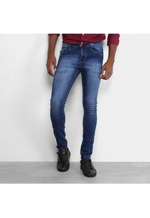 Calça Jeans Skinny Opera Rock Masculina - Masculino