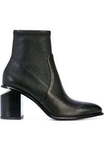 Alexander Wang Ankle Boot Slip-On Anna - Preto