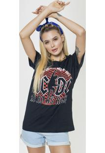 Camiseta Basica Joss Hard As Rock Preta - Kanui