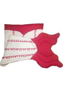 Cobertor Fuxicos E Frescuras Cauda Pequena Sereia Rosa E Pink