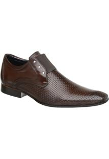 Sapato Masculino Malbork Em Couro Com Elástico 517 - Masculino