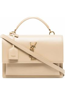 Saint Laurent Bolsa Tiracolo Sunset Média - Neutro