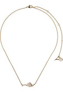 Yoko London Colar Trend Freshwater Em Ouro 18Kt Com Pérola E Diamante - 6