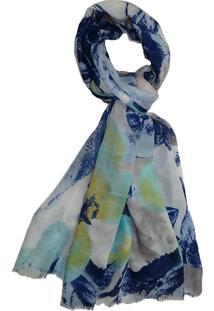 Lenço Zohar Acessórios Ursula Azul