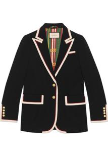 Gucci Blazer Stretch - Preto
