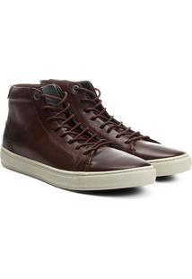 Tênis Couro Cano Alto Shoestock Masculino - Masculino