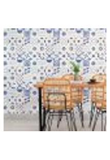 Papel De Parede Adesivo Azulejo N010035 Rolo 0,58X3,00M