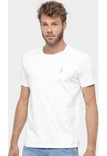 Camiseta Aleatory Bordado Logo Masculina - Masculino
