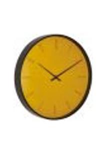 Relógio De Parede Mart Mostarda