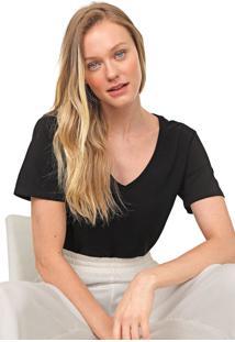 Camiseta Lez A Lez Lisa Preta - Preto - Feminino - Algodã£O - Dafiti