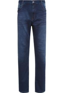 Calça Masculina Slim Somerset - Azul