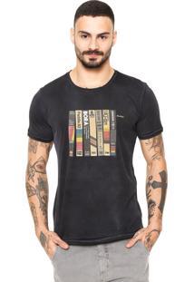 Camiseta Redley Corrosão Preta