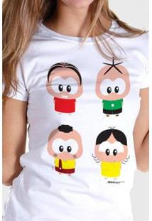 Camiseta Bandup! Turma Da Mônica A Turma Toy - Feminino
