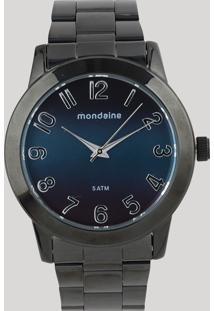 Relógio Analógico Mondaine Feminino - 76514Lpmvpe5 Preto - Único
