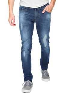 Calça Jeans Fiveblu Skinny Miami Azul