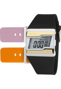 Relógio Mormaii Feminino Troca Pulseiras Fzw/T8E