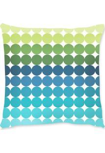 Capa De Almofada Renata Sader Alba Azul E Verde 45X45Cm