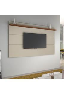 Painel Para Tv Até 72 Polegadas Vivare Off White