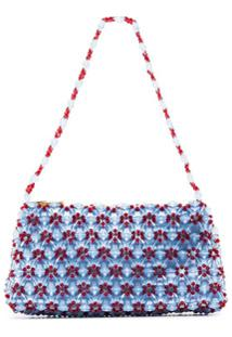 Shrimps Clutch Dawson Mini Cristais - Azul