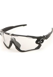 Óculos De Sol Oakley Jawbreaker Preto/Cinza