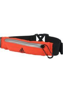 Pochete Adidas Cinto Run Belt - Preto/Laranja