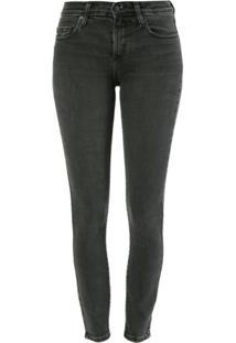 Nobody Denim Calça Jeans Geo Skinny Ankle - Preto