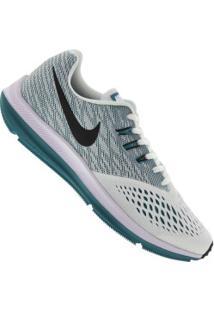 Tênis Nike Zoom Winflo 4 - Masculino - Branco/Preto