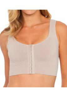 Top Com Abertura Frontal Plié Control Compression (50142)