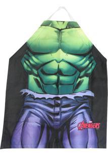 Avental Hulk Os Vingadores 75 X 60 Cm