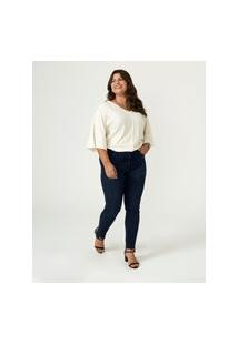Calça Jeans Skinny Megaflex