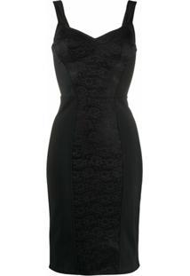 Dolce & Gabbana Vestido Com Bustier - Preto