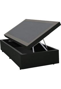 Cama Box Baú Orthocrin Couríno Black Solteiro 88