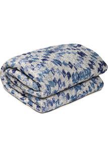 Colcha Casal Corttex Home Design Comfort Sunshine Azul