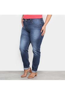 Calça Jeans Xtra Charm Plus Size Skinny + Cinta Modeladora Feminina - Feminino