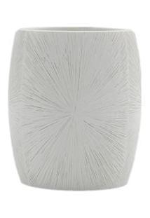 Porta Escova De Dentes Elegance Branco Coisas E Coisinhas