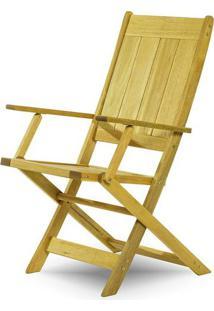 Cadeira Retangular Dobravel Acqualung+ C/ Braco Estrutura Amarelo 99Cm - 61641 - Sun House