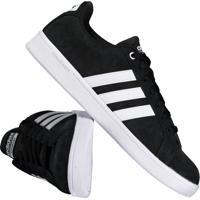 10f942dc9b8 Tênis Adidas Cloudfoam Advantage Preto Fut Fanatics