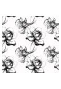 Papel De Parede Autocolante Rolo 0,58 X 3M - Flores 273810584