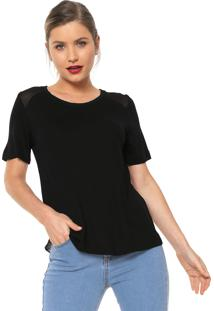 bc915e93f Camiseta Maria Filo Recorte feminina