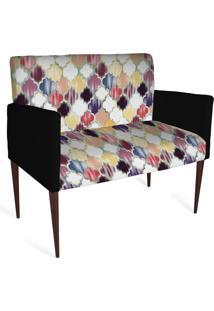Cadeira Decorativa Mademoiselle Plus 2 Lug Imp Digital 132 - Kanui