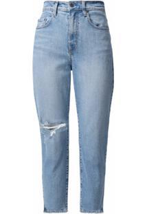 Nobody Denim Calça Jeans Cropped Frankie - Azul