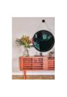 Espelho Decorativo Adnet Ii 100 X 67 Cm Preto