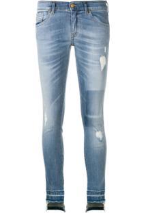 9ba619858 R$ 2164,00. Farfetch Diesel Calça Jeans Skinny Slandy Desgastada - Azul