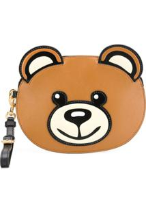 Moschino Teddybear Clutch Bag - Marrom