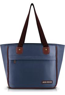 Bolsa Jacki Design Essencial Iii Azul Marinho - Kanui
