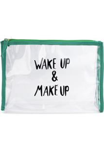 Necessaire Make Up Verde/Un